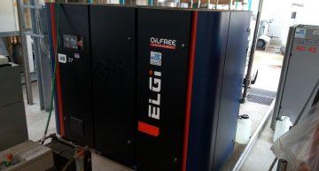 compressore oilfree AB Elgi